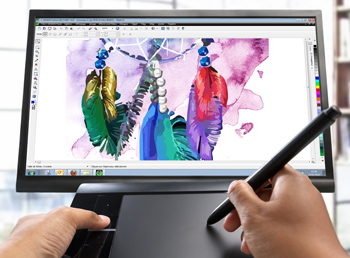 infographiste dessin